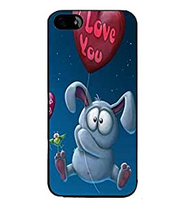 Fuson Premium 2D Back Case Cover Cute teddy With Multi Background Degined For Apple iPhone 4::Apple iPhone 4S