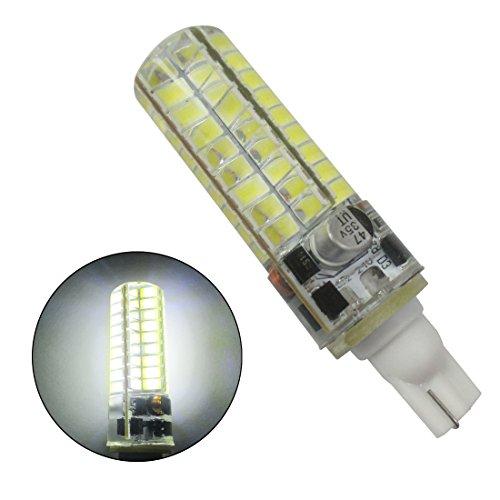 GRV 5 W T10 921 194 72-5730 SMD Ampoule LED T10 Base AC12 V avant. Coque en silicone Cristal ampoule de maïs Super Lumineux 480lumens Blanc chaud 2 pcs
