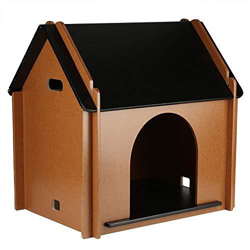 GOTOTOP - Casa Mascotas Interior Plegable Madera caseta