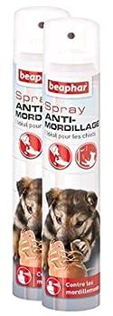 Beaphar Spray anti-mordillage contre les mordillements - chiot - 125 ml - Lot de 2