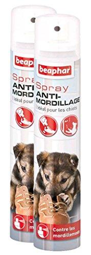 Beaphar–Spray educativo Anti-morsi–per Cuccioli–125ml–Set Composto da 2 Spray