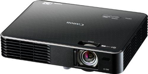 Canon LE-5W Multimedia LED-Projektor (WXGA, Kontrast 3000:1, 1200x800 Pixel, 500 ANSI Lumen) schwarz