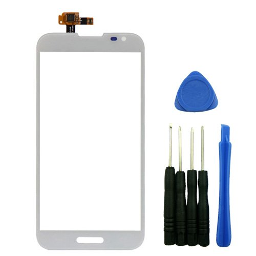 For LG Optimus G Pro F240 E988 E980 E985 White Digitizer Touch Screen Glass Lens Replacement Repair Part
