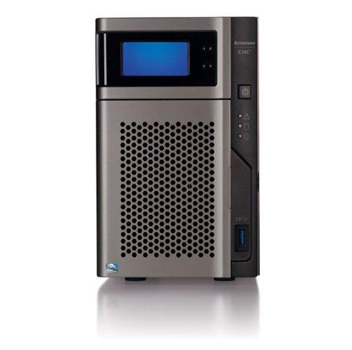 Lenovo EMC px2-300d Network Storage (0TB Diskless EMEA, Intel Atom D525, 2x HDD, 1,8GHz, 2GB RAM) (Ghz-ram 1.8)