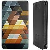 Design Smartphone Tasche / Pouch für Nokia Lumia 830 - ''Gyld Pyrymyd'' von Spires