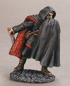 Reaper Miniatures 2874 - Leyendas Oscuras: Talbot, ladrón (sin Pintar) Importado de Alemania