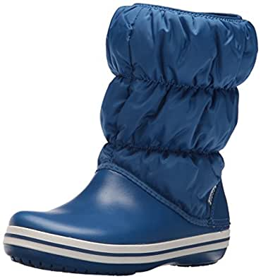 crocs Winter Puff Boot Women, Damen Schneestiefel, Blau (Blue Jean/Blue Jean), 38/39 EU
