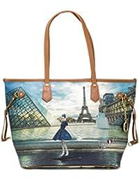 b7dbd22125 YNOT Shopping Bags BORSE & ACCESSORI K-319 PARIS Dance All Around Nuovo