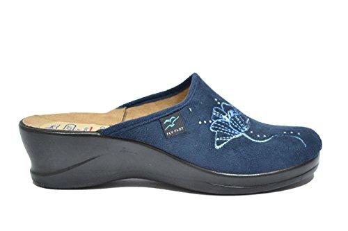 Fly Flot Ciabatte comfort blu anatomiche donna 36732 39