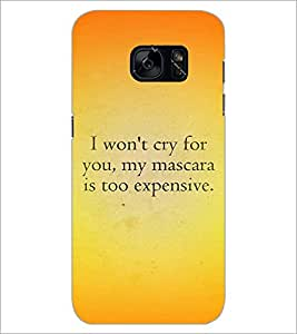 PrintDhaba Quote D-4407 Back Case Cover for SAMSUNG GALAXY S7 (Multi-Coloured)