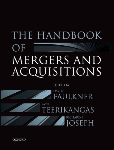 The Handbook of Mergers and Acquisitions (English Edition)
