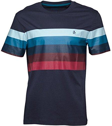 original-penguin-t-shirt-uomo-navy-pale-blue-red-teal-petto-grande-10160-10668-cm