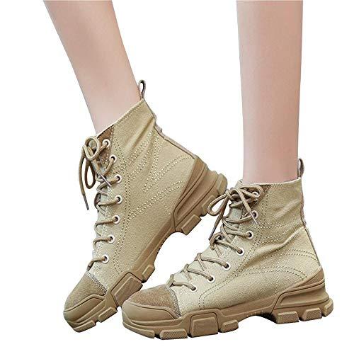 Preisvergleich Produktbild Stiefel Lässig Damen Stiefel Stiefeletten Mode Vielseitige Motorradstiefel British Spitze Martin Stiefel