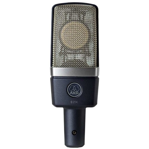AKG C214 microphone - microphones (Studio, 20 - 20000 Hz, Cardioid microphone, XLR-3, Wired, 55 x 160 mm)