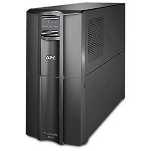 APC Onduleur Smart UPS - Régulateur automatique de tension (AVR), Écran LCD, 8 Prises IEC-C13, Logiciel d'arrêt