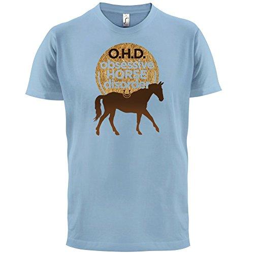Bessessene Pferde Störung - Herren T-Shirt - 13 Farben Himmelblau