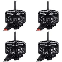 BETAFPV 4pcs 0802 Motor 17500KV Brushless Motors FPV RC Brushless for 2S Micro Whoop FPV Drone Like Beta65X etc