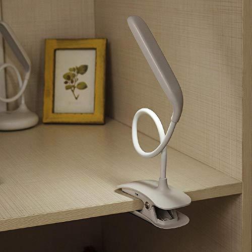Tragbarer, Wiederaufladbarer, Flexibler Usb-Clip-Nachttisch, Dimmbar@Clip Base