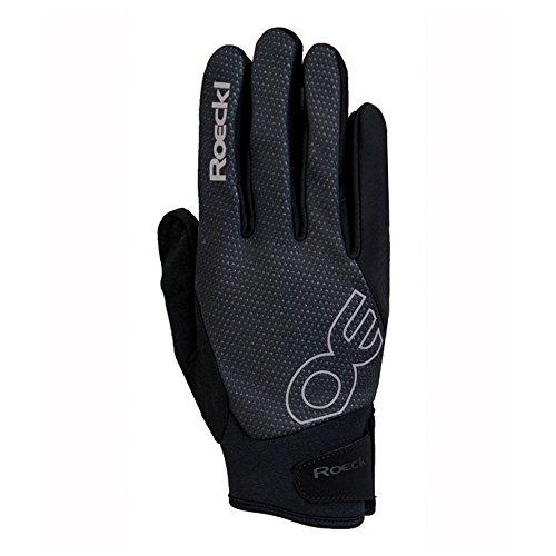 Roeckl Riga Winter Fahrrad Handschuhe schwarz