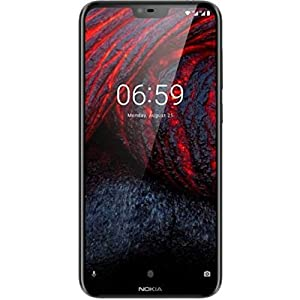 Nokia 6.1 Plus (Black, 6GB RAM, 64GB Storage)