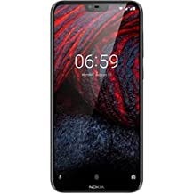 Nokia 6.1 Plus (Black, 6GB RAM, 64GB Storage)
