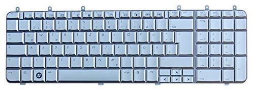 tsche QWERTZ Tastatur für HP Pavilion dv7-1029eg 1030eg 1045eg 1070eg DE Neu Silber ()