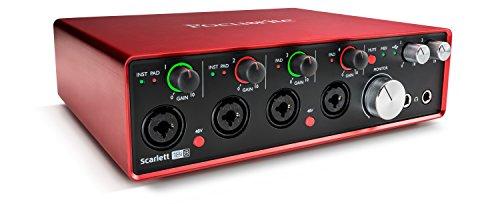 Focusrite Scarlett 18i8 (2G) USB-Audio-Interface mit Pro Tools