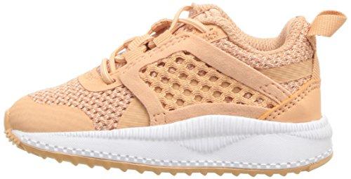 PUMA Unisex-Kids Pacer Next Net AC Sneaker  Dusty Coral-Dusty Coral White  12 M US Little Kid