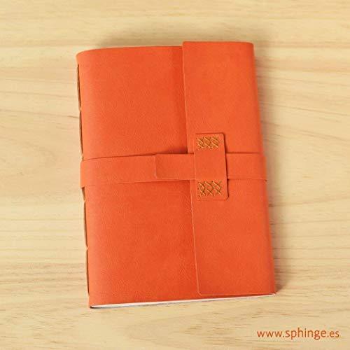Cuaderno de cuero A5, cuaderno de cuero vegano, cuaderno de viaje, cuaderno de...