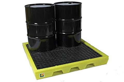 4-drum poly spill pallet 31-1258