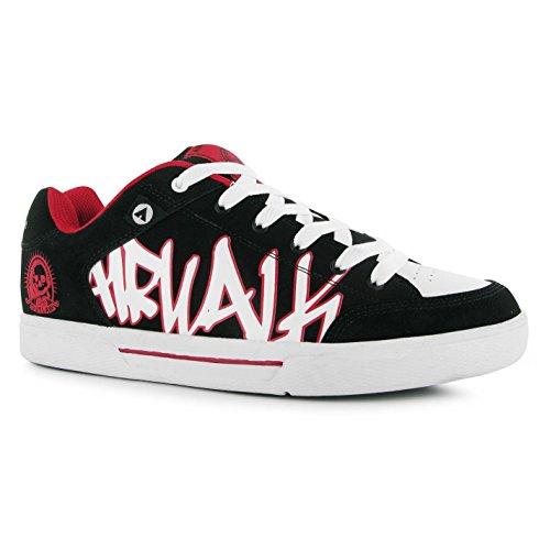 airwalk-outlaw-skate-shoes-mens-black-red-casual-trainers-sneakers-uk11-eu45