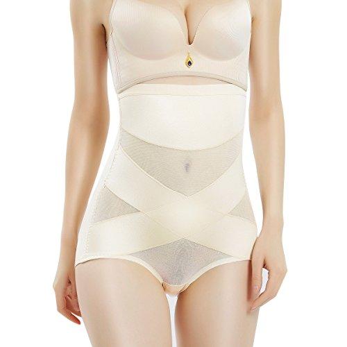 Movwin guaina modellante vita alta donna shapewear mutande contenitive pancia piatta pancera snellente body shaper da donna