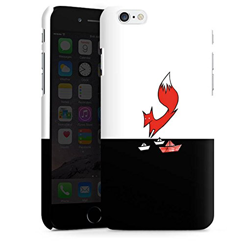 Apple iPhone X Silikon Hülle Case Schutzhülle Fuchs Comic Fox Premium Case matt