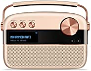 Saregama SC130 Carvaan Hindi Portable Digital Music Player - Sound by Harman/Kardon - Rose Gold (Pack of 1)