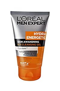 L'Oreal Paris Men Expert Hydra Energetic Cleanser, 100ml
