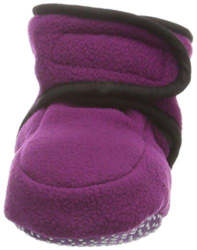 Playshoes Baby Fleeceschuhe 103480 Unisex-Baby Krabbelschuhe Violett (lila 19)