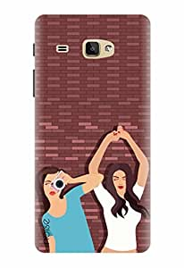 Noise Designer Printed Case / Cover for Samsung Galaxy J Max / Animated Cartoons / Friends With Benefit Design