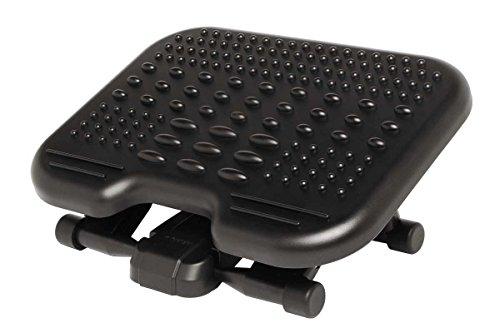 Kensington Sole Massage ergonomische Fußstütze, 56155EU, Schwarz