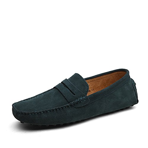 shenn-mens-minimalism-casual-driving-shoes-green-suede-leather-loafers-2088-uk8