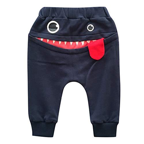 MOIKA Baby Jungenhosen, 18Monate -3Jahre alt Baby Kinder Kinder Jungen Mädchen Cartoon Shark Zunge Harem Hosen Hosen Hosen (Katze Kostüm 18 Monat Alt)