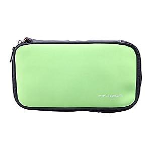 OSTENT Schutzhülle Soft Cover Tasche Tasche Hülle kompatibel für Nintendo Wii U Gamepad Farbe Grün