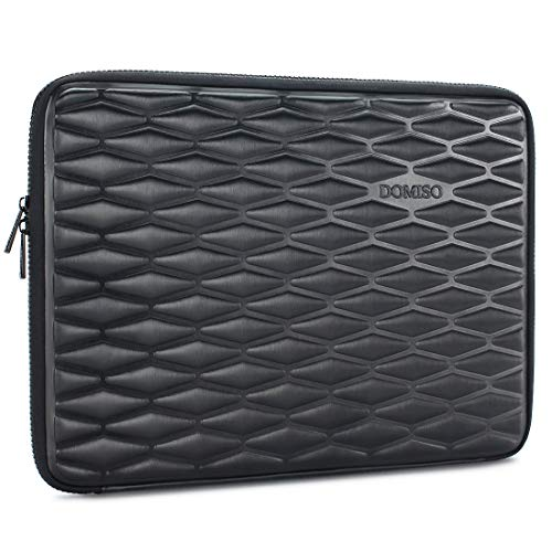 "DOMISO 15-15,6 Zoll Wasserdicht Stoßfest Laptophülle Notebook Tasche Schutzhülle für 15.6\"" Lenovo IdeaPad ThinkPad/HP Spectre x360 Pavilion 15 Envy 15 / Dell XPS 15 / Apple/Asus, Schwarz"