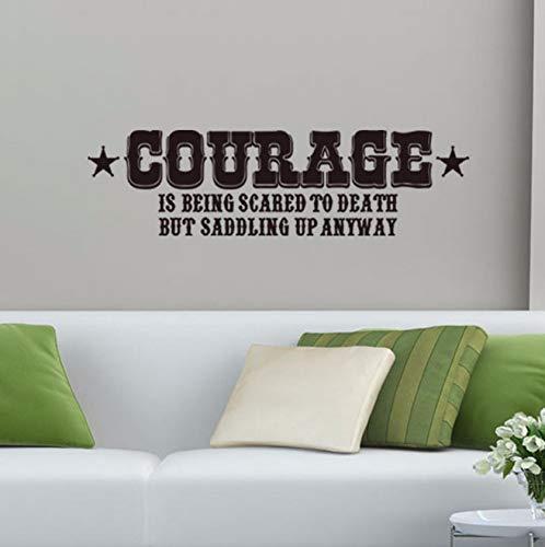 hreckt Zum Tod Hauptdekorationwandkunstabziehbilder Zitieren Schlafzimmertapete Wohnzimmerwanddekor ()