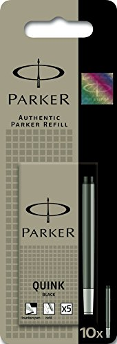 parker-quink-fountain-pen-refills-long-cartridges-black-pack-of-10