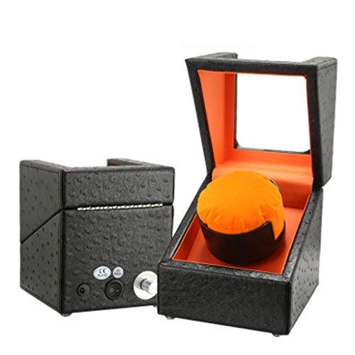 KY Uhrenbeweger Automatische Uhr Winder Meter automatische mechanische Uhr oberen Kettenkasten String Box Watch Box Armband Box Schütteln Tisch Schmuckschatulle. (Farbe : 1+0B)