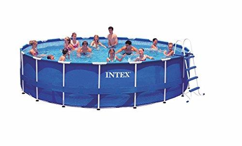 Intex Aufstellpool Frame Pool Set Rondo, TÜV/GS, Blau, Ø 549 x 122 cm