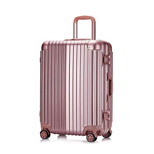 YJF Valigia Trolley Valigia Bagagli Valigia Rolling Impermeabile con Ruote TSA Lock incorporata