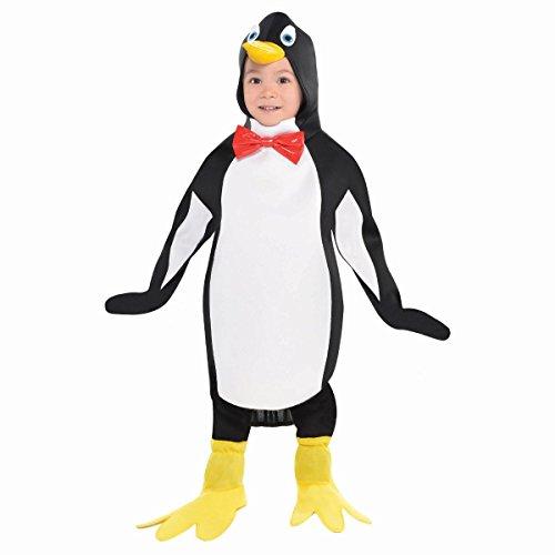 Pinguin Kind Kostüm - Pinguin Kostüm Kinder Amscan