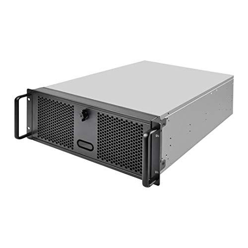 Silverstone SST-RM400-4U Rackmount Server Gehäuse, Unterstützt Mainboards bis SSI-Ceb und ATX (PS2)/Mini Redundante Netzteile (Netzteil Ps2-atx)