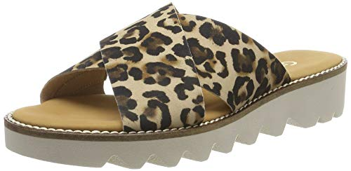 Gabor Shoes Damen Comfort Sport Riemchensandalen, Beige (Natur 90), 41 EU -